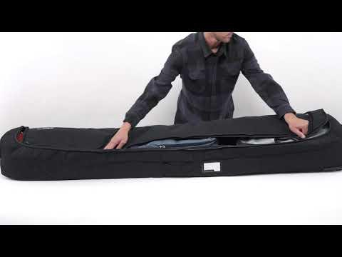 Dakine Fall Line Ski Roller Bag gepolsterte Ski-Transporttasche auf praktischenRollen