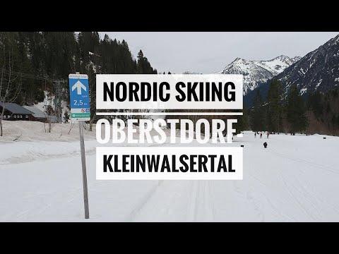 Nordic Skiing / Langlaufen in Oberstdorf-Kleinwalsertal   Mittelberg, Austria [Travelog]