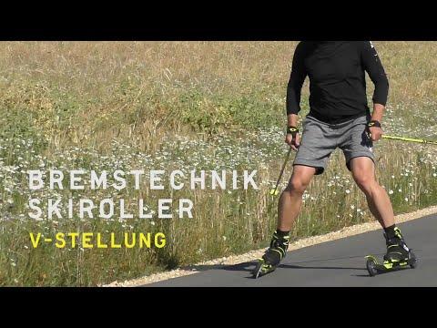 Fischer Nordic | Skiroller Bremstechniken