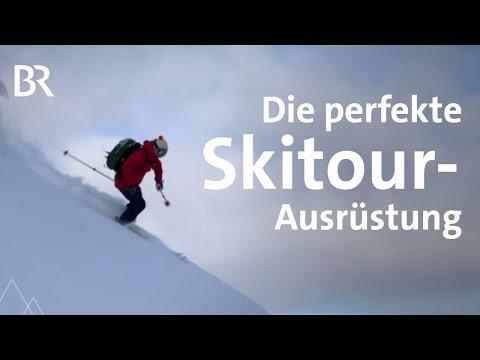 Ausrüstungs-Tipps: Was muss mit auf Skitour | Bergauf-Bergab | Ratgeber | BR