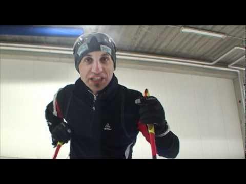 Test der Skihalle in Oberhof