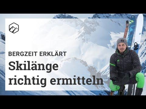 So findest du die richtige Skilänge für Tourenski, Freerideski oder Allrounder | Bergzeit