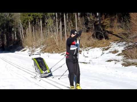 Thule Chariot Ski Set im Test - bike box