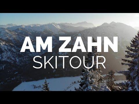 Zahn 1536m über Kolbensattel | Die perfekte Skitour für Anfänger | Ammergauer Alpen