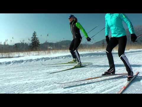 Alpenwelt Karwendel - Langlaufen mit Magdalena Neuner und Martina Beck