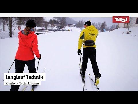 Langlauf Technik – Langlauf Klassisch lernen