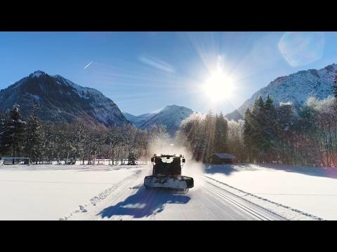 Winter in Oberstdorf - Langlaufloipen